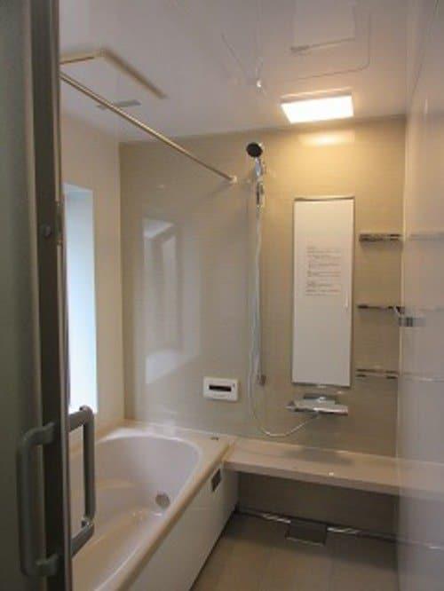 耐震ユニットバスの浴室お風呂リフォーム施工事例
