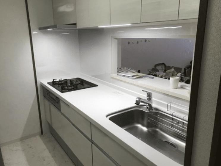 キッチンリフォームLIXILシエラ施工事例