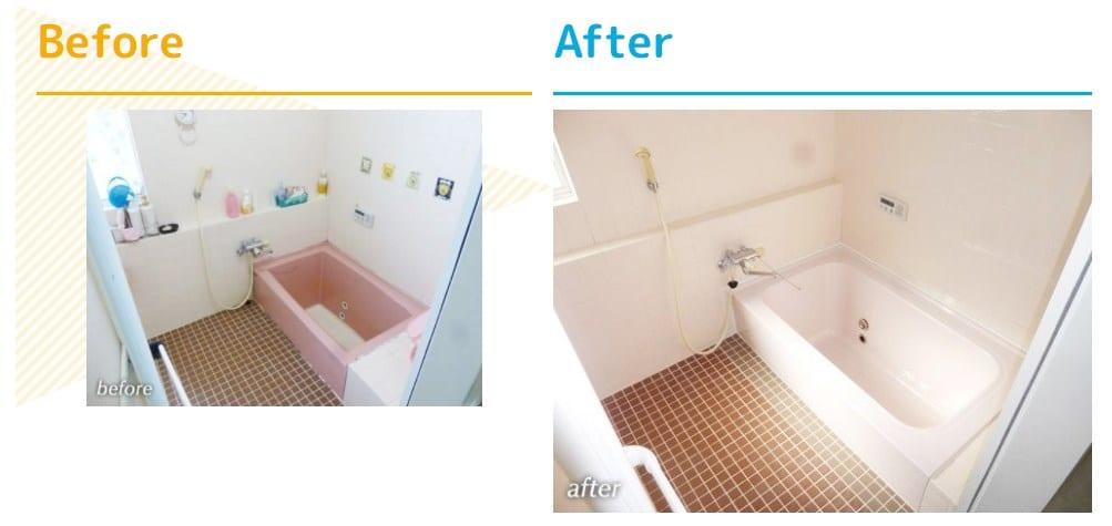 予算50万円以内の浴室リフォーム事例